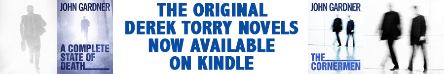 The original Derek Torry novels now available on Kindle